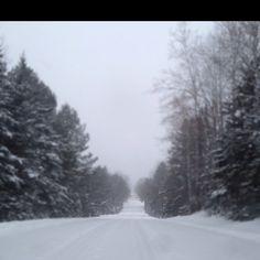 Winter backroads!