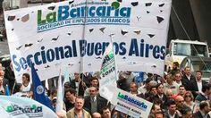 Desde el jueves habrá asambleas de trabajadores bancarios en todo el país