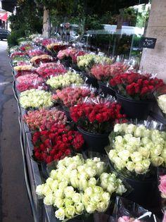 Flower shop on Rue Poussin