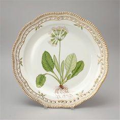 2 Royal Copenhagen Flora Danica Serving Platters