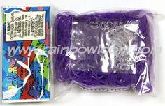 Purple (Jelly)   Rainbow loom