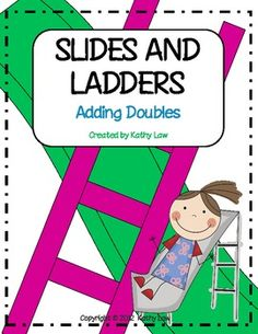 A fun way to practice subtracting doubles. In this game, students practice their subtraction skills while moving along the game board. A printable is included to assess learning. This math game can be used for math stations/centers, partner games, or Math Addition, Addition And Subtraction, Math Stations, Math Centers, Fun Math, Math Activities, Kids Math, Science Fun, Math Worksheets