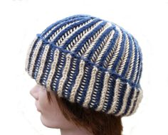 Reversible Hat  Stretchy Knit Hat  Versatile by stayinstitches, $40.00 for Acrylic, $50.00 for Cotton, $55.00 for Wool.