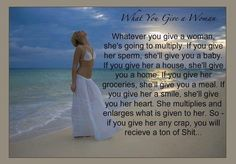 What to give a woman