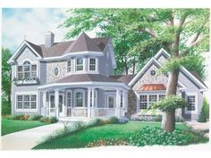 The house I would build if I won the lottery :)