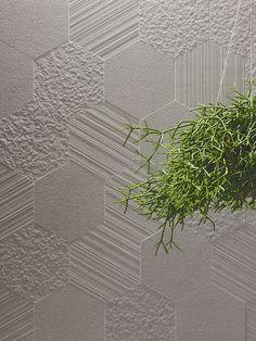 Otto - Esagona Mix - Bianco - Porcelain Tile