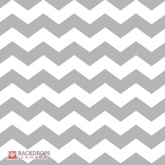Chevron Wide Grey Photography Backdrop. Order online at www.backdropscanada.ca