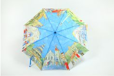 Oil Painting #Umbrella Umbrella Painting, Folding Umbrella, Umbrellas Parasols, Art Projects, Golf, Weather, Random, Crafts, Accessories
