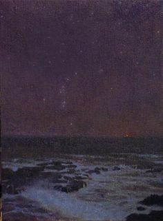 Gentle Light - Ocean Nocturne by David Gallup