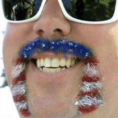 ...... Alright. Patriotism at its best! @Marisa Dixon