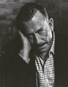 John Steinbeck  (February 27, 1902 – December 20, 1968)  American writer and winner of the Pulitzer Prize and a Nobel Prize for Literature.