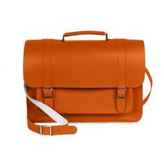 "Briefcase 13"" Orange, 115€, now featured on Fab."