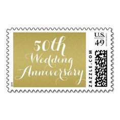 Gold Glitter 50th Wedding Anniversary Stamp => http://www.zazzle.com/gold_glitter_50th_wedding_anniversary_stamp-172054106158719402?CMPN=addthis&lang=en&rf=238590879371532555&tc=pin50thggoldglitterstamp
