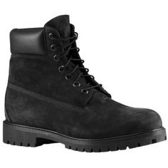 "Timberland 6"" Waterproof Boot - Men's - Casual - Shoes - Jet Black"