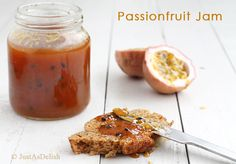 Passion Fruit Jam | Healthy Malaysian Food Blog & Food Recipes