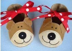 Pantuflas para niños -Moldes para imprimir ~ Solountip.com