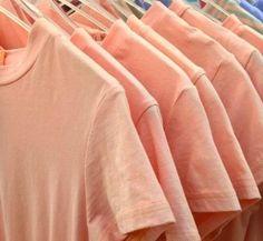Likes plain pastel shirts Orange Aesthetic, Aesthetic Colors, Peach Shirt, Shades Of Peach, Peach Orange, Just Peachy, Jolie Photo, Mode Style, Peach Colors