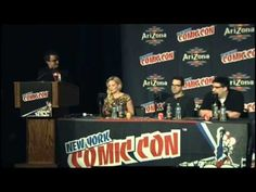 Jennifer Morrison, Adam Horowitz and Edward Kitsis. NYCC Panel. 10/12/2013 Jennifer said that she recently kissed someone on the show and I'm pretty sure it's Hook!!!!!