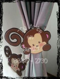 cortineros para los cuartos de bebes