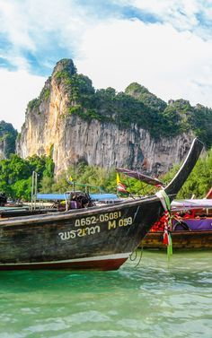 Railay: Thailand's most dramatic scenery. Excellent destination for adventurers.