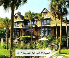 Here's the house I am drooling over today: a sprawling shingled home on over 11 acres of Kiawah Island in South Carolina. It was featured in Architectural Digest a few years ago and is now on the market for 18 million.     Wonder if they will they take a check ?!