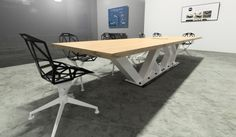 14 ft. Custom Conference Table