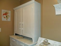 Vintage Laundry Room makeover