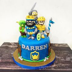 Clash Royale birthday cake