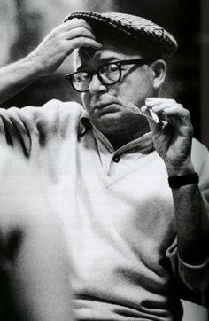 Billy Wilder (1906 - 2002) was an Austrian-born American filmmaker, screenwriter, producer, artist, and journalist.