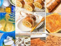 Resep Bolu Gulung / Roll cake ekonomis ala Chiffon Cake