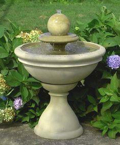 Water+Fountain+Ideas | garden fountains garden fountain outdoor water features small fountain ...