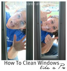 How to Clean Windows like a Pro