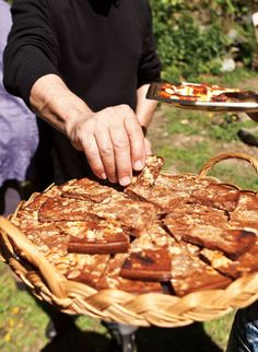 Torta Pisticcina (Chestnut Flour Tart)