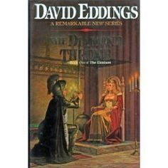 The Diamond Throne (Elenium, Book 1) by David Eddings http://www.amazon.com/dp/0345356918/ref=cm_sw_r_pi_dp_Q6ILtb1DVGC8EW1C
