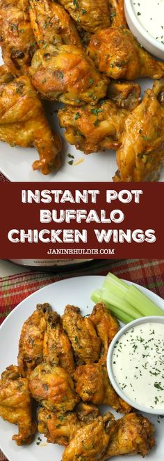 The Very Best Instant Pot Buffalo Chicken Wings Recipe The best recipe to make Buffalo Chicken Wings for all your party gatherings with family and friends. Instant Pot Pressure Cooker, Pressure Cooker Recipes, Pressure Cooking, Slow Cooker, Chicken Wing Seasoning, Chicken Wing Recipes, Best Instant Pot Recipe, Instant Pot Dinner Recipes, Instant Pot Wings Recipe