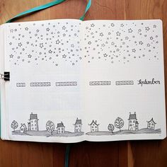 martinamarion Hello September ️⭐ Just can't decide.. do I add more hill's & houses.. or stars ..or color... or everything?   .  .  .  .  .  .  .  .  #doodle #doodles #sketch #bujodoodle #bujo #bulletjournal #pittartistpen #bujodoodles #bujolove #bujoart #bujoaddict #tinydoodle #Leuchtturm1917 #leuchtturm1917de #monthlyspread #sharemybujo #showmeyourplanner