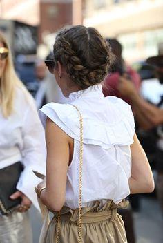 Camisaria, a maior trend no street style dessa NYFW! - Garotas Estúpidas - Garotas Estúpidas