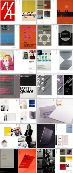 Beautiful body of work by Wim Crouwel, a Dutch graphic designer + typographer.