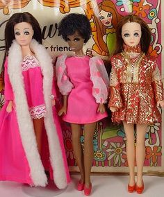 "Does anyone remember Dawn Dolls?  I owned the entire collection.  They were like Barbie's but only 6"" tall.  I loved them!"