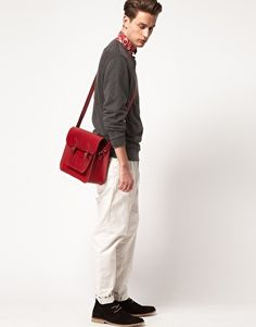 because we all need a red satchel