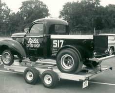 Capitol Raceway Big Ed's Speed Shop WIllys PU Gasser
