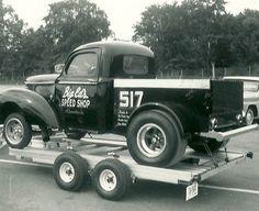 Capitol Raceway Big Ed's Speed Shop WIllys PU Gasser