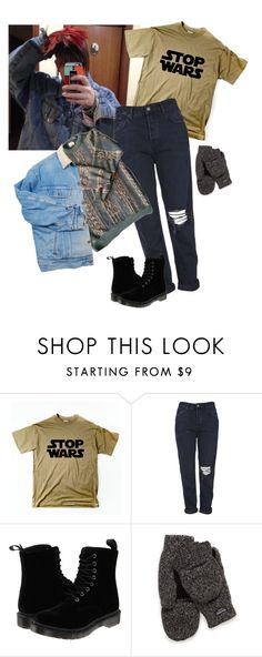 """""""What I'd wear"""" by prusius on Polyvore featuring moda, Topshop y Dr. Martens"""