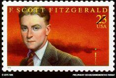 F. Scott Fitzgerald (1896 - 1940) Sello de EE. UU.