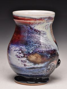 Dick Lehman Pottery: A gallery of wood fired, saggar fired and side fired ceramics in Goshen, Indiana
