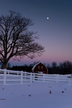 This looks lot like the farm Casey's family is from where we'll be spending Christmas this year <3.