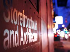 Storefront for Art and Architecture. Steven Holl and Vito Acconci architects   Fernando Carrasco photographer