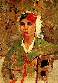 Kai Fine Art is an art website, shows painting and illustration works all over the world. Eduardo Vuillard, Turkish Art, Marble Art, Portrait Art, Portraits, Flower Fashion, Middle Ages, Arts And Crafts, Fine Art