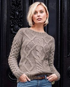 Highlands Cable Sweater $148