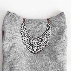 Love Story Statement Necklace - #fashion #jewelry #necklace #ootd #glam #trends2017 #potd #silvernecklace - 24,90 @happinessboutique.com
